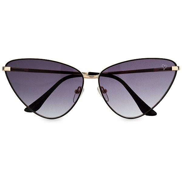 Óculos de Sol Kessy Gatinha Preto