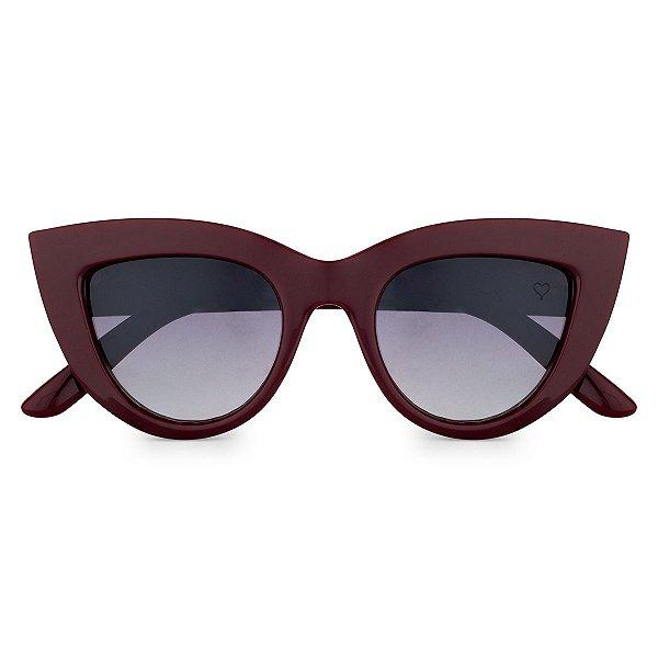 Óculos de Sol Kessy Mila  New Vinho