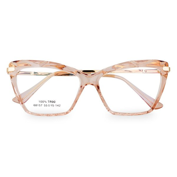 Óculos de Grau Kessy 130 Transparente Marrom