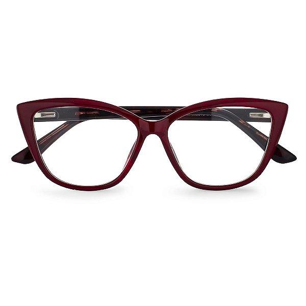Óculos de Grau Kessy 155 Vinho