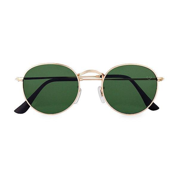 Óculos de Sol Kessy Round Verde