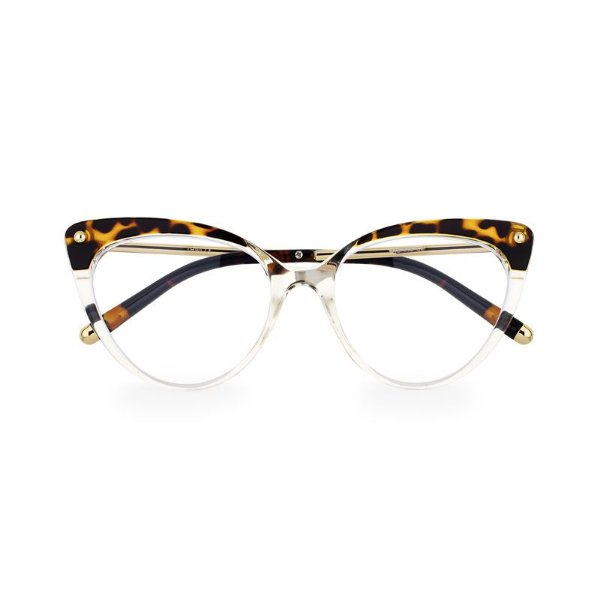 Óculos de Grau Kessy 190 Transparente Tartaruga