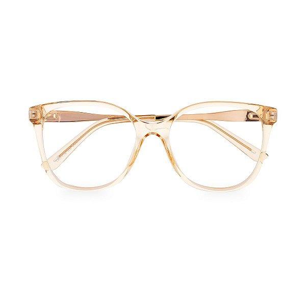 Óculos de Grau Kessy 950 Transparente Dourado