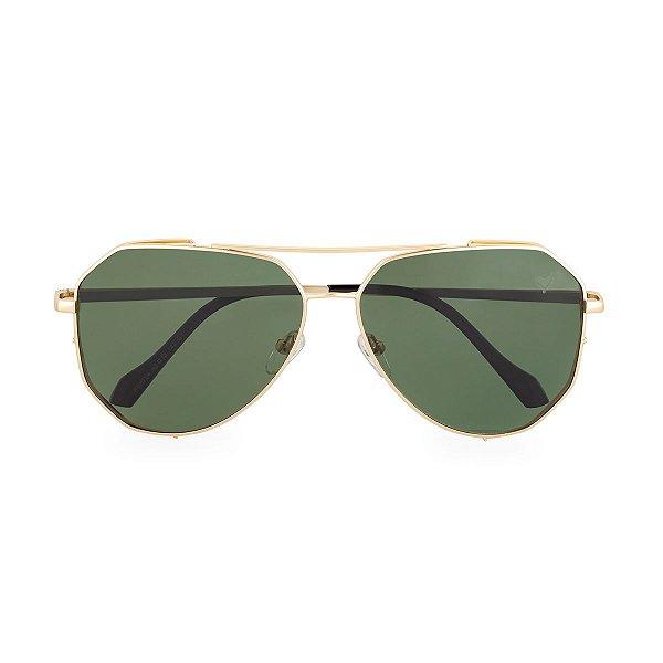 Óculos de Sol Kessy Aviador Salvador Verde