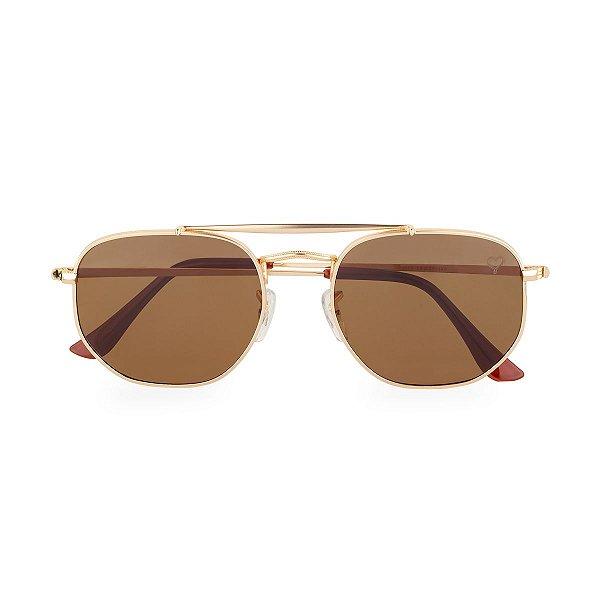 Óculos de Sol Kessy Astral Marrom