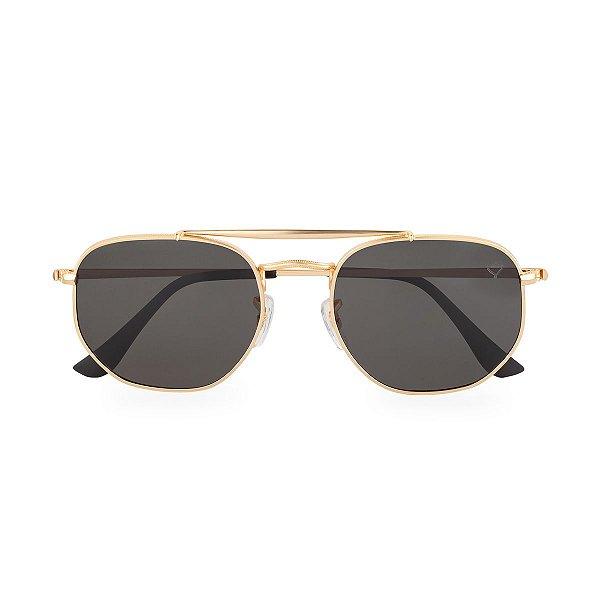 Óculos de Sol Kessy Astral Preto Dourado