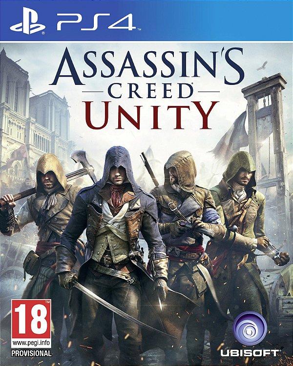 ASSASSINS CREED UNITY SONY PS4