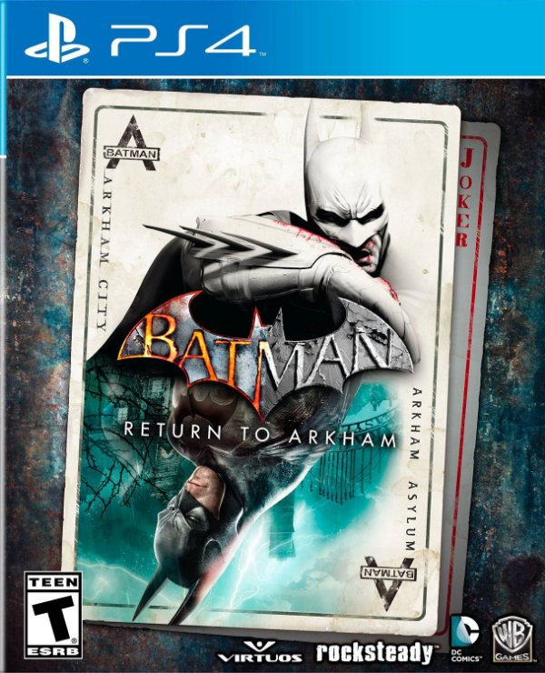 BATMAN - RETURN TO ARKHAM SONY PS4