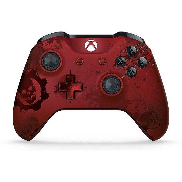 Controle Sem Fio Edição Especial Gears Of War 4 - Xbox One