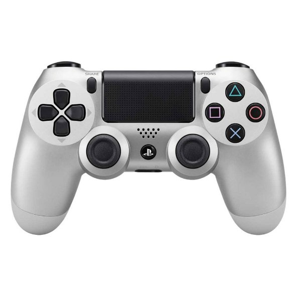 Controle sem Fio para Playstation 4 (PS4) silver- Sony