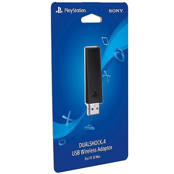 Adaptador USB Dualshock 4 Sony - PC e MAC