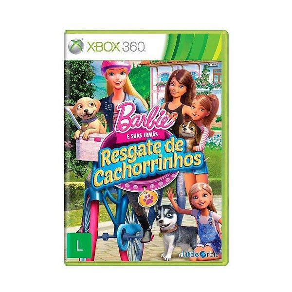 Jogo Barbie e suas irmãs: Resgate de Cachorrinhos para Xbox 360 (X360) - Little Orbit