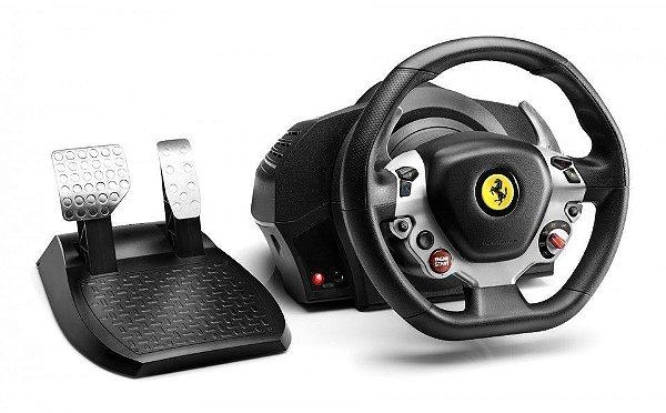 Volante e pedais Ferrari 458 TX Racing Wheel para Xbox One e PC - Thrustmaster