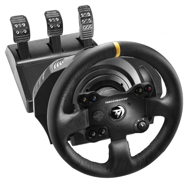 Volante e Pedais Thrustmaster Tx Rw Leather Edition para PC, Xbox One