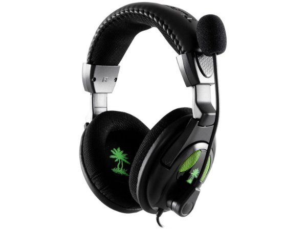 Headset X12 com Microfone para Xbox 360 e PC - Turtle Beach
