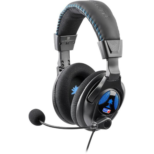 Headset Universal PX22 para PS3, PS4, X360, PC e Mac - Turtle Beach
