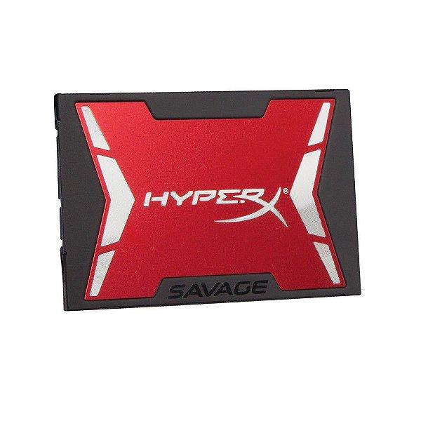 SSD Kingston HyperX Savage 2.5´ 240GB SATA III 6Gb/s SHSS37A/240G