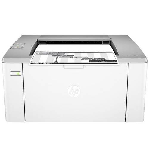 Impressora HP Laserjet Pro M106W Laser Preto e Branco Sem Fio