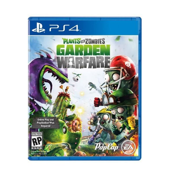 Jogo Plants Vs Zombies Garden Warfare PS4