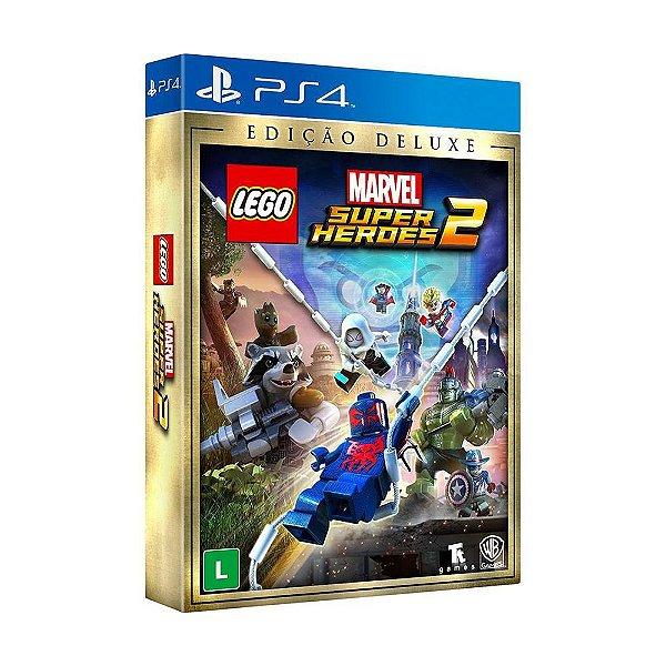 Jogo LEGO Marvel Super Heroes 2 (Edição Deluxe) - PS4