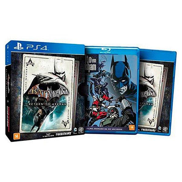 Jogo Batman: Return to Arkham (Edição Limitada) - PS4