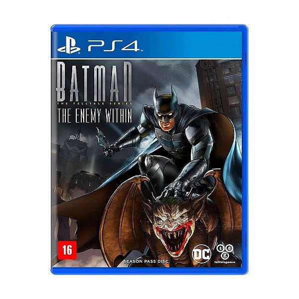 Jogo Batman: The Enemy Within - PS4