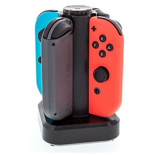 Carregador Tetra Dock para até 4 Controles Joy-Con Nintendo Switch - Bionik