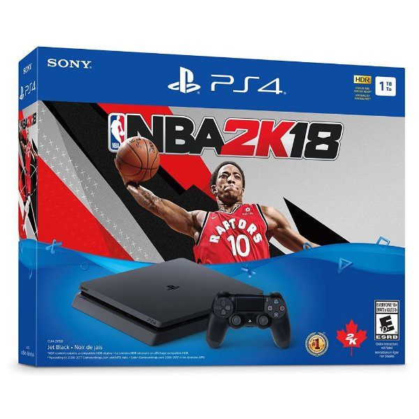 Console Playstation 4 1TB Bundle NBA 2K18 - Sony