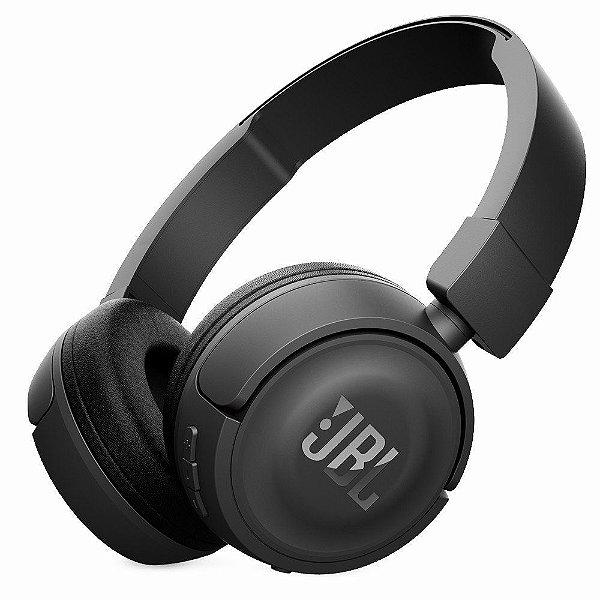 Fone de Ouvido Headphone JBL T450BT Bluetooth Preto