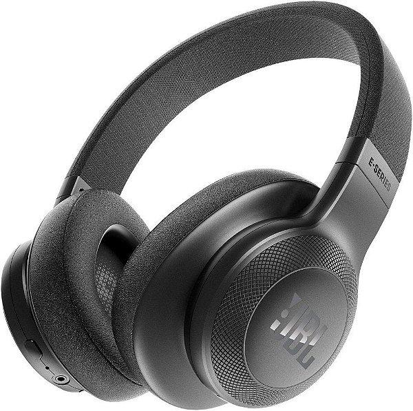Fone de Ouvido Headphone Over-Ear JBL Bluetooth E55BT Preto