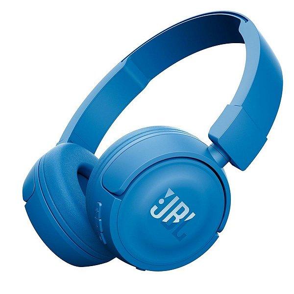 Fone de Ouvido Headphone JBL T450BT Bluetooth Azul