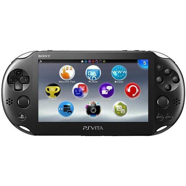 Console Sony PS Vita PCH-2006 Wi-Fi Preto