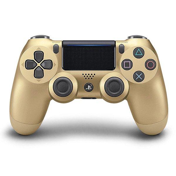 Controle sem Fio para Playstation 4 (PS4) dourado - Sony
