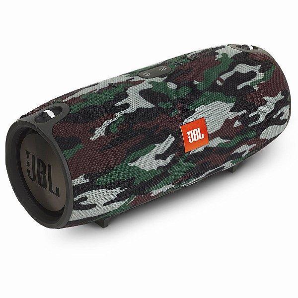 Caixa de som Bluetooth JBL A Prova de respingos de água 2x20W Xtreme Squad/Camuflado