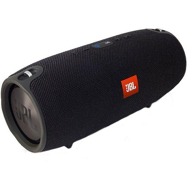 Caixa de som Bluetooth JBL A Prova de respingos de água 2x20W Xtreme Preta
