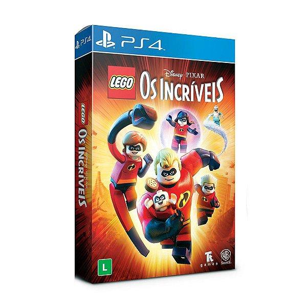 Jogo LEGO Os Incríveis (Edição Especial) - PS4 - PRÉ VENDA