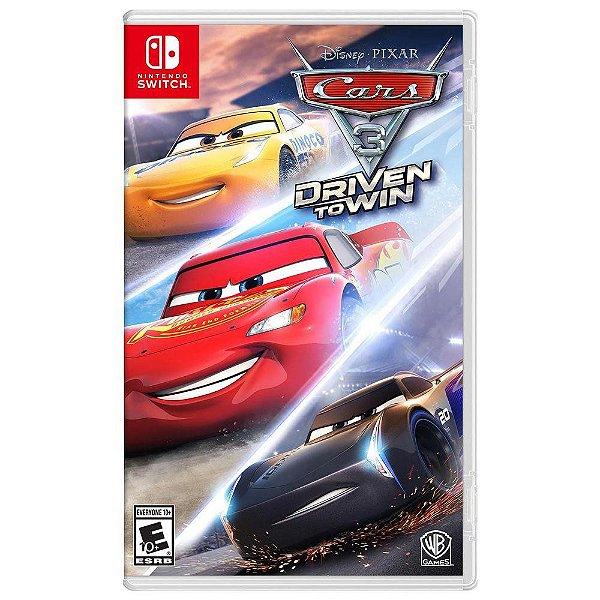 Jogo Cars 3 Driven to Win - Nintendo Switch