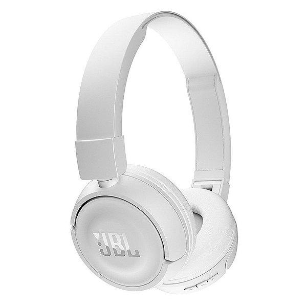 Fone de Ouvido Headphone JBL T450BT Bluetooth Branco