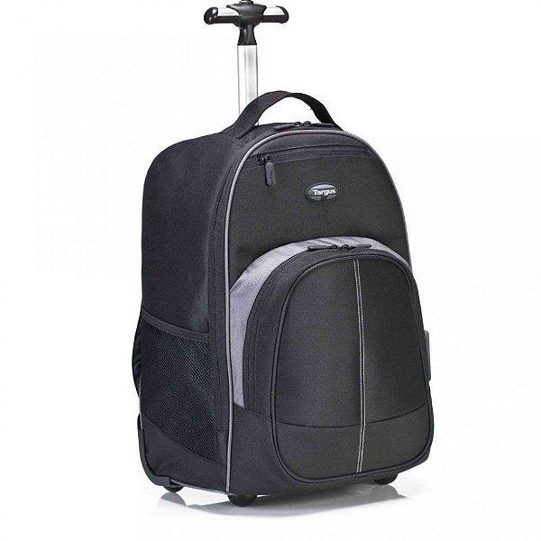 """Mochila Targus para Notebook até 16"""" Compact Rolling Backpack c/ Rodas - TSB750"""