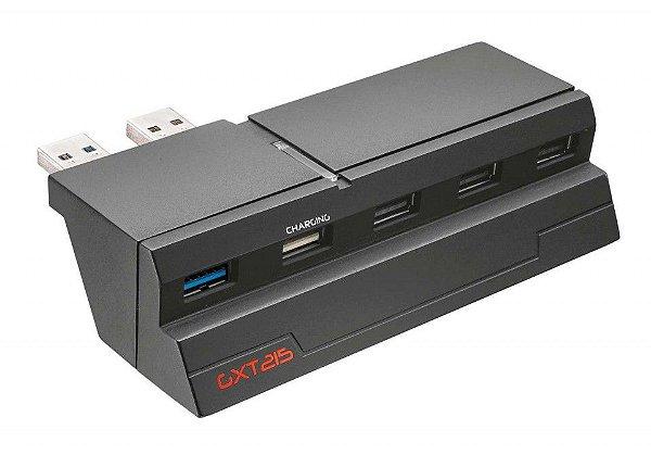Hub USB Trust GXT 215 com 5 portas para PS4 - 19866