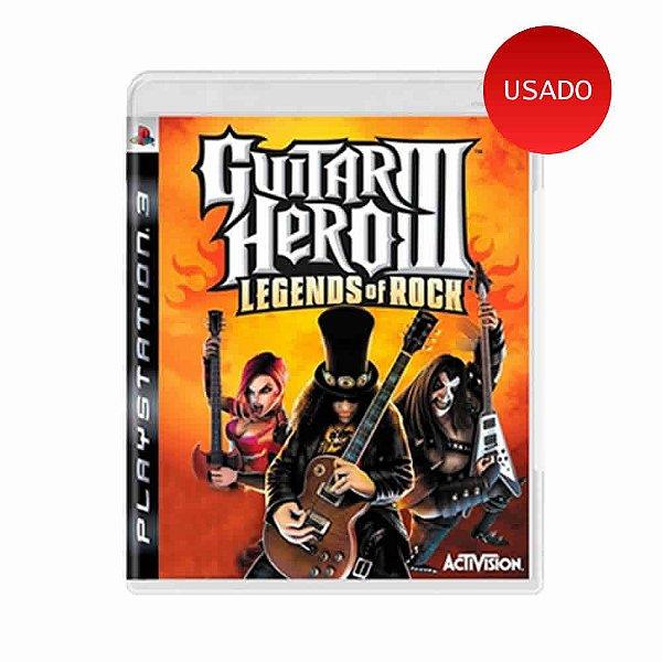 Jogo Guitar Hero III - Legends of Rock - PS3
