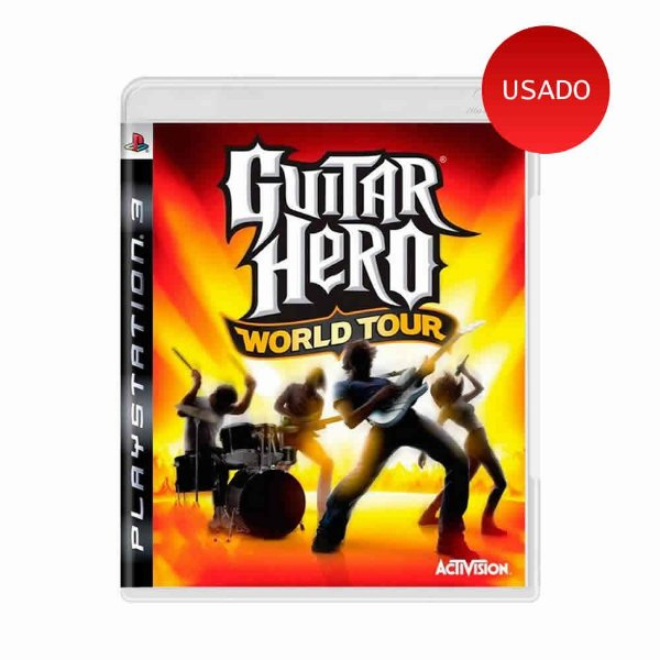 Jogo Guitar Hero World Tour - PS3
