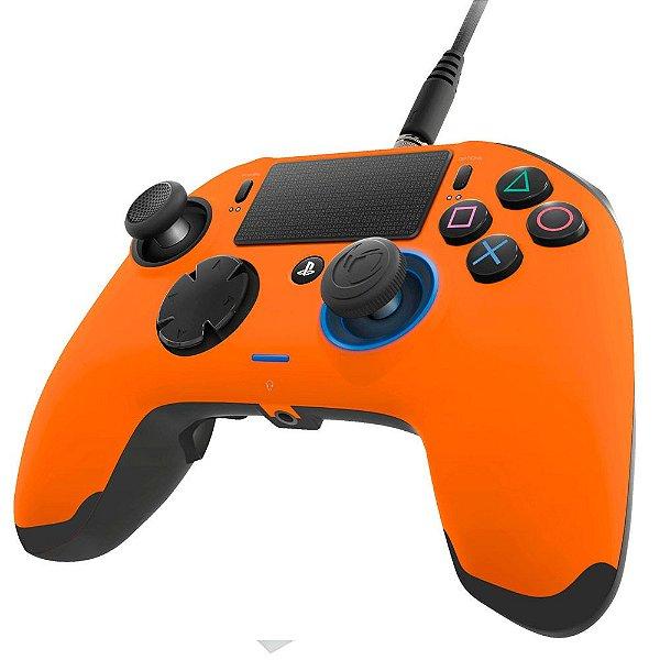 Controle NACON Revolution PRO para Playstation 4 (PS4) e PC Laranja
