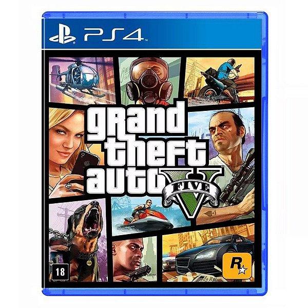 Jogo Grand Theft Auto V (GTA 5) - PS4