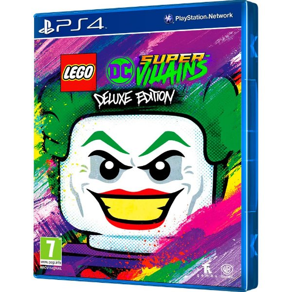 Jogo LEGO DC Super-Villains Deluxe Edition - PS4