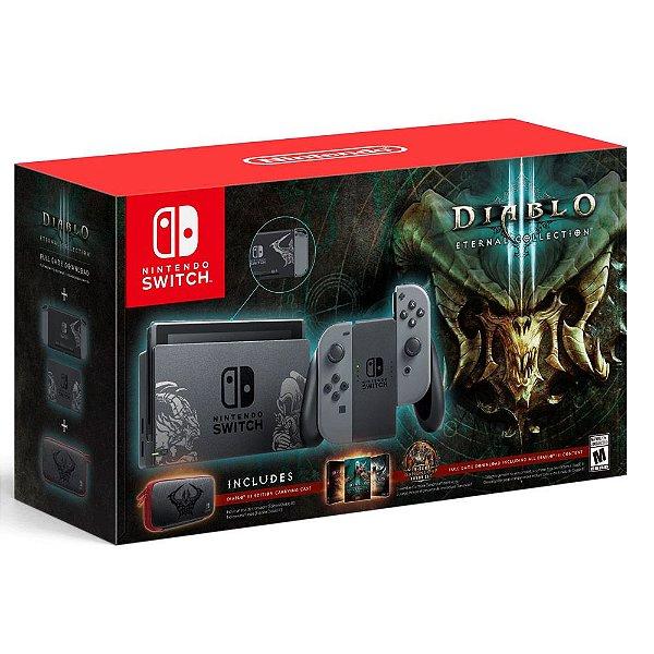 Console Nintendo Switch 32GB Bundle Diablo 3 Eternal Collection