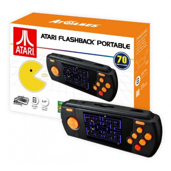 Console Atari Flashback Portátil com 70 jogos na memória