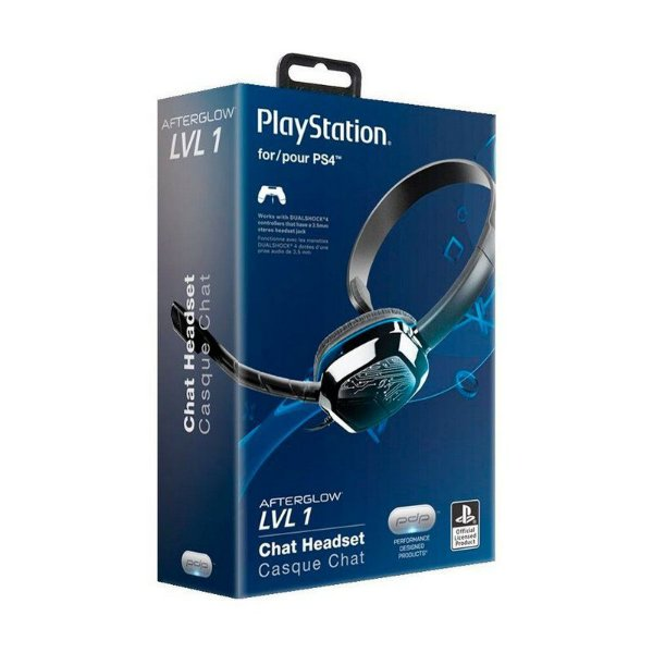 Chat Headset PDP Afterglow LVL 1 - PS4