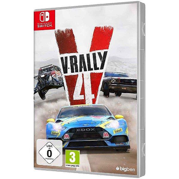 Jogo V-Rally 4 - Switch
