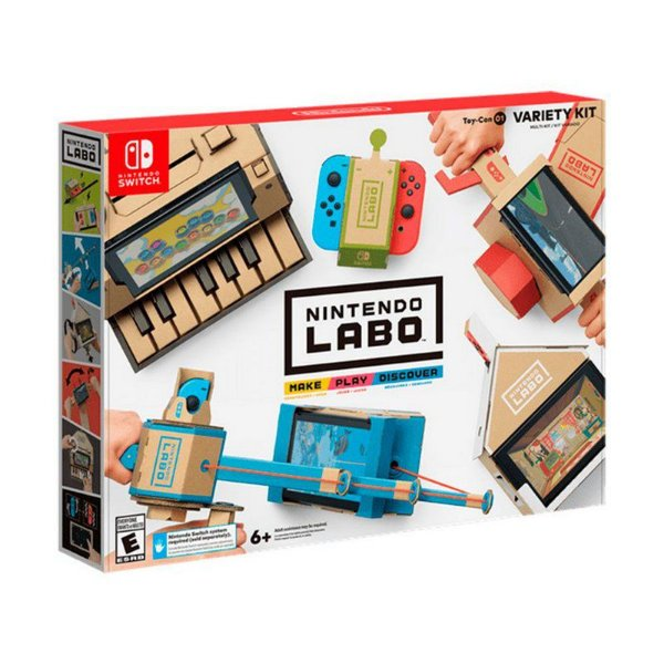 Nintendo Labo Toy-Con 01 (Variety Kit) - Switch